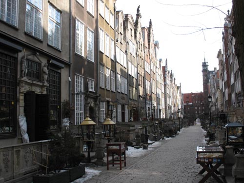 Rue Mariacka - Gdansk