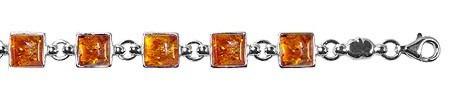 Bracelet petits carrés