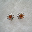 Boucles d'oreilles marguerite