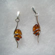 Boucles d'oreilles torsade