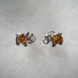 Boucles d'oreilles lphant miniature