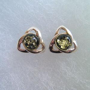 Charmed - bijou ambre et argent