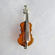 Broche mini Violon