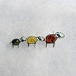 Broche trio d'�l�phants