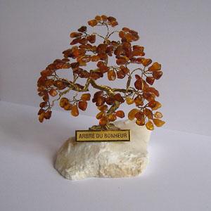 arbre du bonheur r4 cognac 9 cm arbre du bonheur bijou ambre et argent. Black Bedroom Furniture Sets. Home Design Ideas