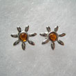 Boucles d'oreilles soleil miniature