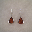 Boucles d'oreilles triangle moderne 
