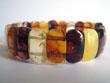 Bracelet d'ambre rigide