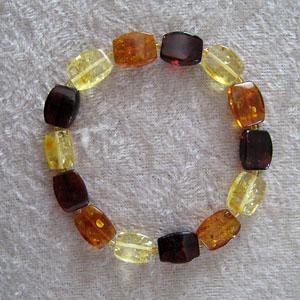 Bracelet ambre - bijou ambre et argent