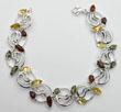 Bracelet Pétales multicolores