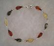 Bracelet Gouttelettes allongées multicolores