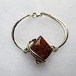 Bracelet rigide Losange