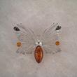 Broche papillon fin