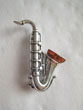 Broche saxophone
