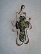 Pendentif croix maxi
