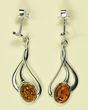Boucles d'oreilles petit ovale