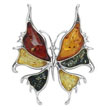 Broche papillon GM multicolore