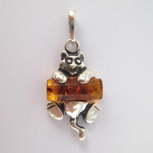 Pendentif chat