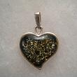 Pendentif coeur vert